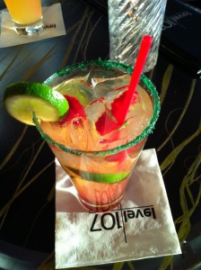 Raspberryjito from Level 107 Lounge at the Stratosphere